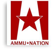 Ammu-Nation Canvas Print