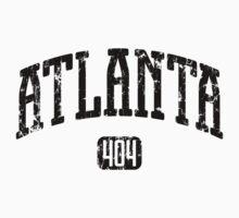 Atlanta 404 (Black Print) Baby Tee