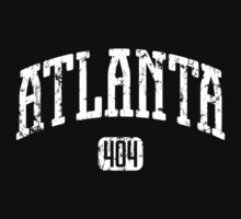 Atlanta 404 (White Print) by smashtransit