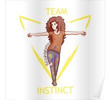Rachel Elizabeth Dare for Team Instinct! Poster