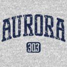 Aurora 303 (Navy Print) by smashtransit