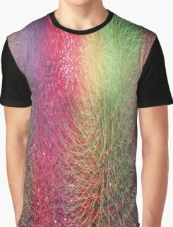 Color Burst Graphic T-Shirt