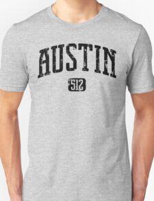 Austin 512 (Black Print) T-Shirt