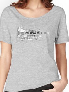 Subaru Transmission  Women's Relaxed Fit T-Shirt
