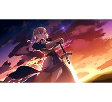 Fate/stay night: Unlimited Blade Works Saber Photographic Print