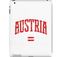 Austria (Red Print) iPad Case/Skin