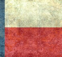 """The """"Lone Star Flag"""" of The Lone State Texas Sticker"""