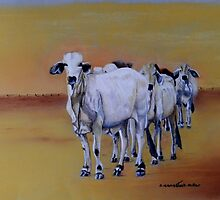 Just Waiting by Sandra  Sengstock-Miller