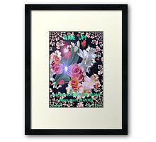FLOURISH IN YOUR STRENGTHS Framed Print