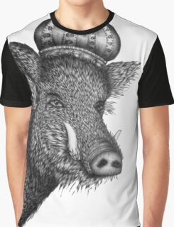 The Boar King Graphic T-Shirt