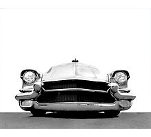 1956 Cadillac - high contrast Photographic Print