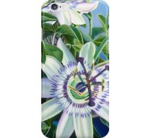 Dreamy Tropical Passion Flower iPhone Case/Skin