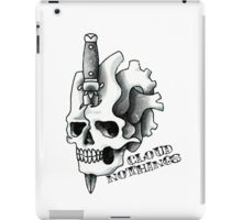 Cloud Nothings skull and dagger iPad Case/Skin