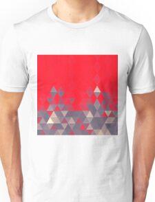Geo Pattern Fire Engine Unisex T-Shirt