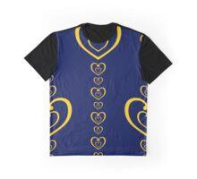 Sailor Venus Love Me Chain! (Navy) Graphic T-Shirt