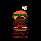 Benny's Burgers by FORESTKAT