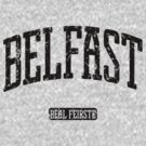 Belfast (Black Print) by smashtransit
