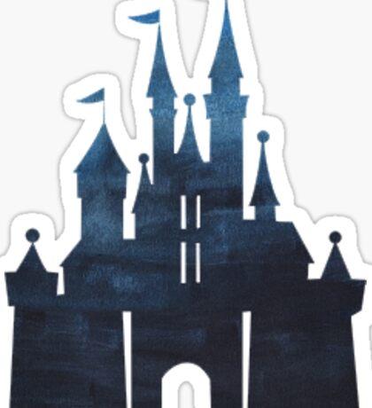 Midnight Castle Sticker