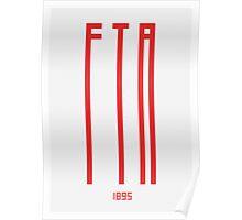 FTA 1895 - PRINT  Poster
