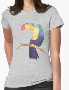Toucan Stu Womens Fitted T-Shirt