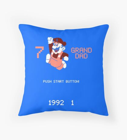 7 Grand Dad  Throw Pillow