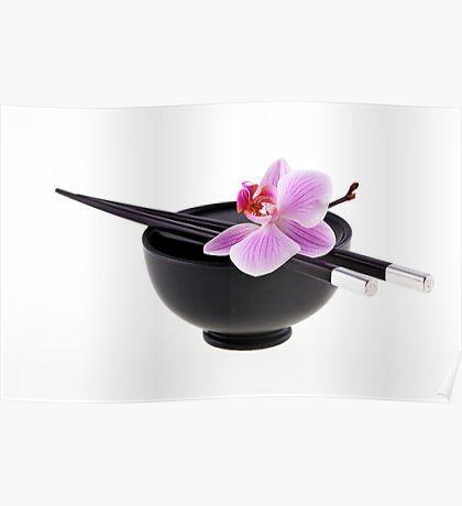 Zen orchid III Poster
