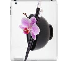 Zen orchid III iPad Case/Skin