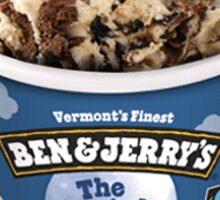 Ben & Jerry's The Tonight Dough Sticker