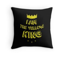 I AM THE YELLOW KING - TRUE DETECTIVE Throw Pillow