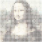 Mona Lisa Dots by Rossman72