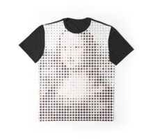 Mona Lisa Dots Graphic T-Shirt