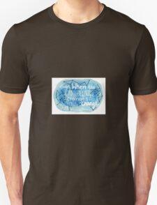night changes Unisex T-Shirt