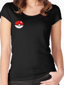 Pokemon pokeball Women's Fitted Scoop T-Shirt