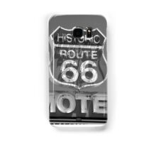 Route 66 motel sign Samsung Galaxy Case/Skin