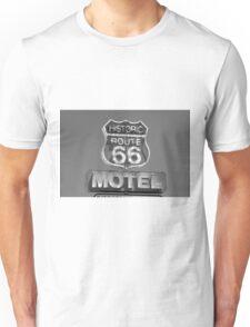 Route 66 motel sign Unisex T-Shirt