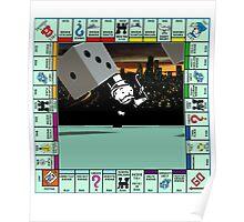 Monopoly Retro Game Board Poster