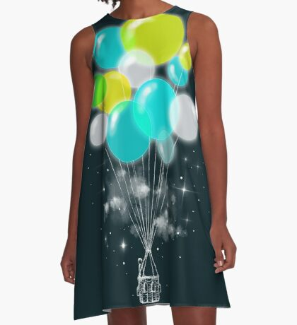 Colorful Exile A-Line Dress