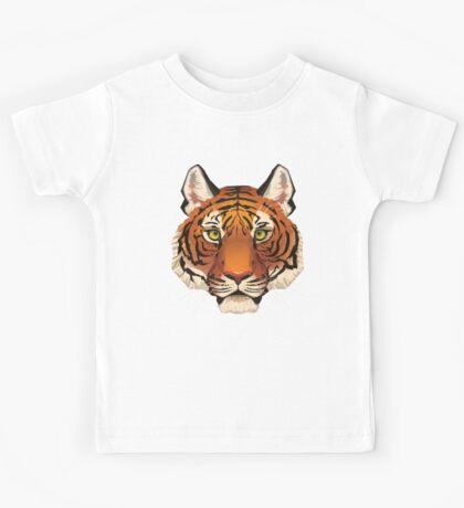 Tiger Face Kids Tee