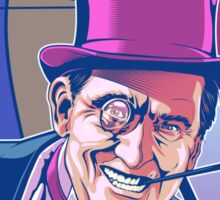 Burgess Meredith Penguin Sticker