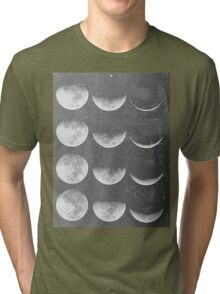 Lunar Cycle Tri-blend T-Shirt