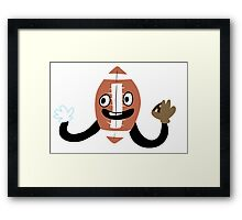 SPORTS BALL LET'S PLAY SPORTS Framed Print