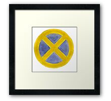 X-Men (Yellow) Framed Print