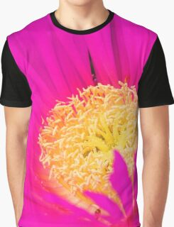 Pink and Yellow Graphic T-Shirt