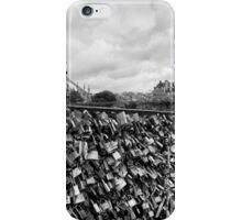 Locking for Love - Paris, France iPhone Case/Skin