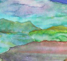 Paper Landscape Sticker