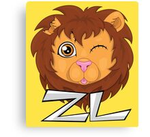 """ZL """"Zeal"""" The Positive Zombie Canvas Print"""