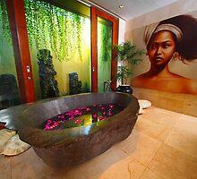A Villa Eshara Bathroom by Ronald Rockman