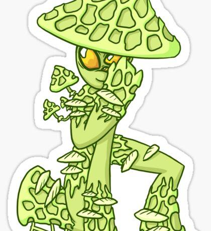 Lux Shroom Sticker