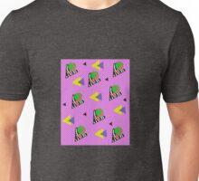 Bizarre Triangles in Love 80's New Wave Retro Pattern Unisex T-Shirt
