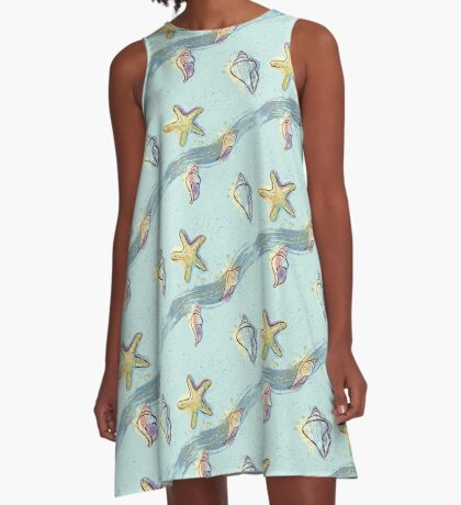 Starfish Touch The Sky A-Line Dress
